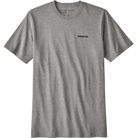 Patagonia P-6 Logo - T-shirt manches courtes Homme - gris